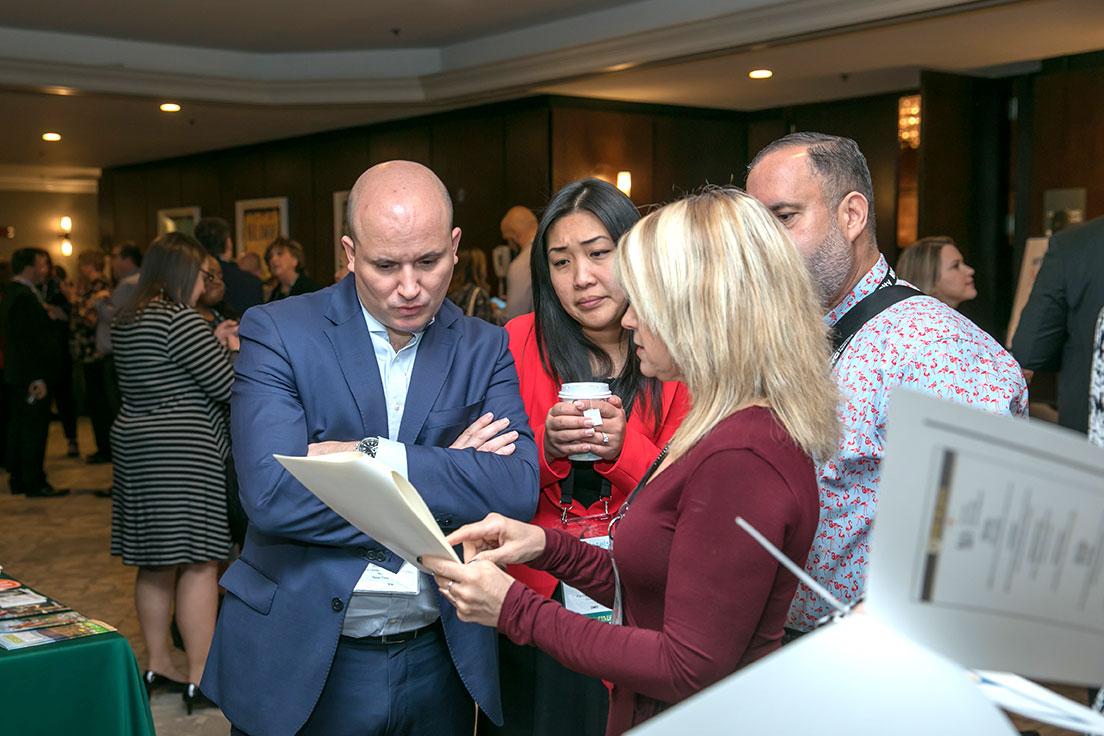 IITA 2019 Summit Attendees Interacting
